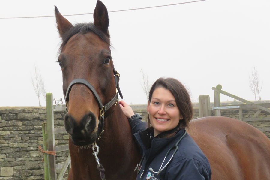 Angela Jones George Equine Clinic Vet